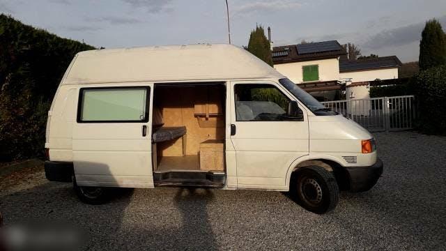 pickup VW T4 VW Transporter mit Campingausbau 235000km Baujahr 2002