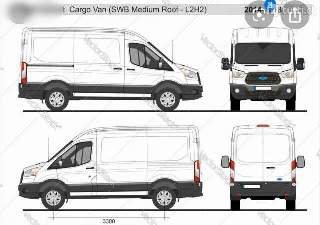 bus Ford Transit Ford L2 H2