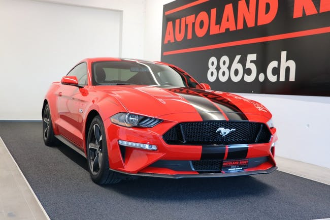 coupe Ford Mustang GT 5.0 V8 Modell 2019