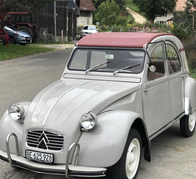 Citroën 2CV 44'000 km CHF22'600 - kaufen auf carforyou.ch - 1