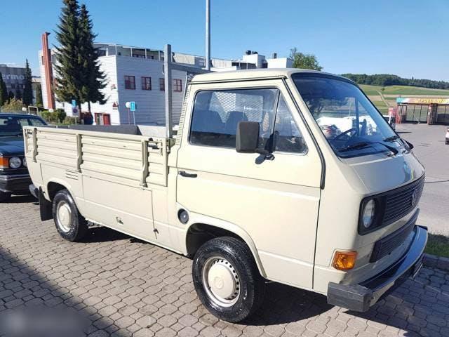 bus VW Typ 2 VW T3 Pritsche Pickup 2.1L 100000km