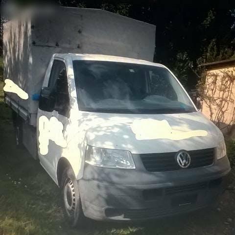 pickup VW T5 VW 1,9l Diesel Transporter mit Blache jg06 149000Km