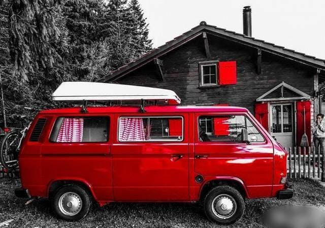bus VW Typ 2 VW T3 Camper (Westfalia Oldtimer)