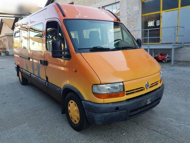 bus Renault Master 17 Platz