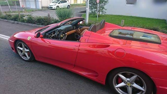 cabriolet Ferrari 360 Ferrari FSpider