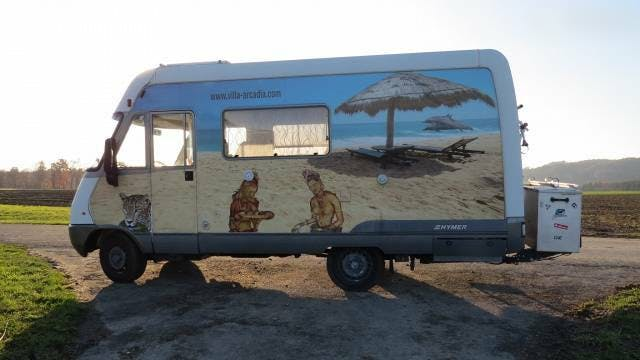 bus Mercedes-Benz Sprinter Wohnmobil Hymer S510 / Mercedes 312 D / Automat