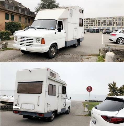 pickup Ford Transit Ford 120, 108'800km, 1990, Automatique