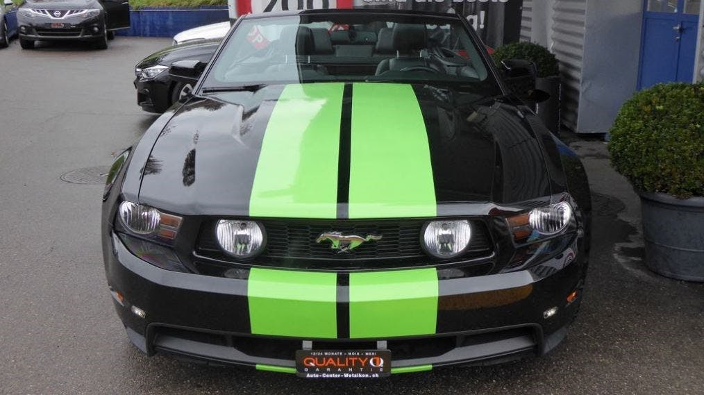 coupe Ford Mustang GT 5.0 V8 Convertible Hulk Edition