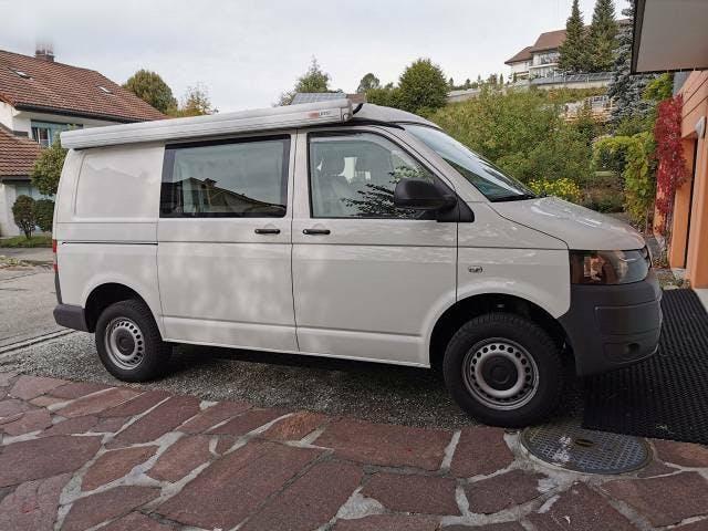 bus VW T5 VW Allrad Offroad Camper