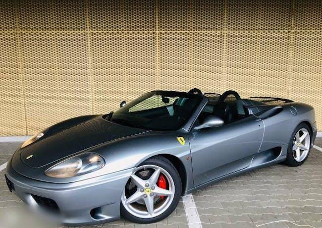 cabriolet Ferrari 360 FERRARI FSpider 61'300 km 07.2001