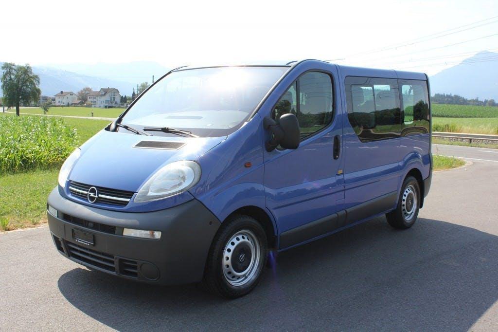 bus Opel Vivaro 2.5 CDTI 2.7t L1H1 *9 Sitze Automat*