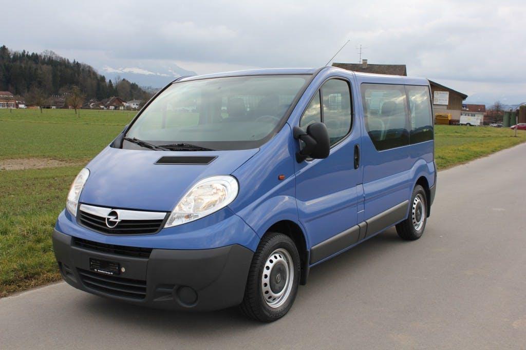 bus Opel Vivaro 2.5 CDTI 2.7t L1H1 -9 Sitzer Automat-