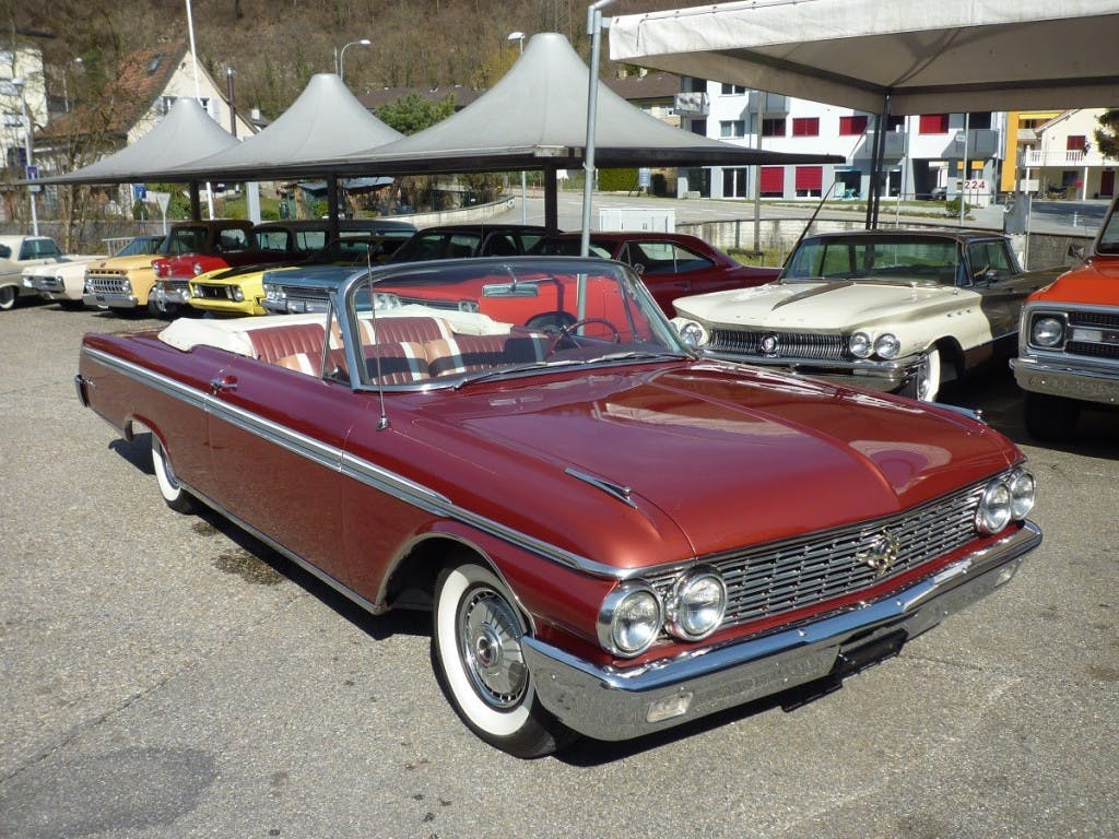 cabriolet Ford Galaxie 500 Sunliner