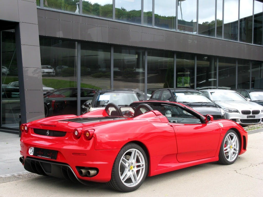 cabriolet Ferrari F430 Spider Manual