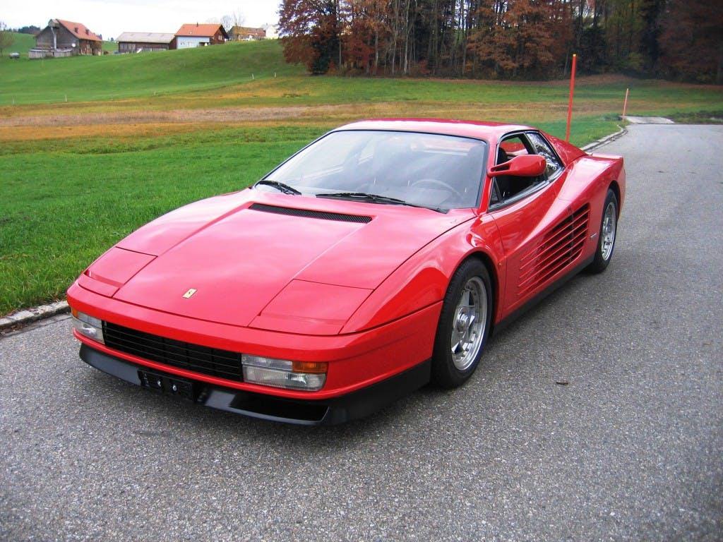 coupe Ferrari Testarossa TESTAR./512 Monospecchio & Monodado