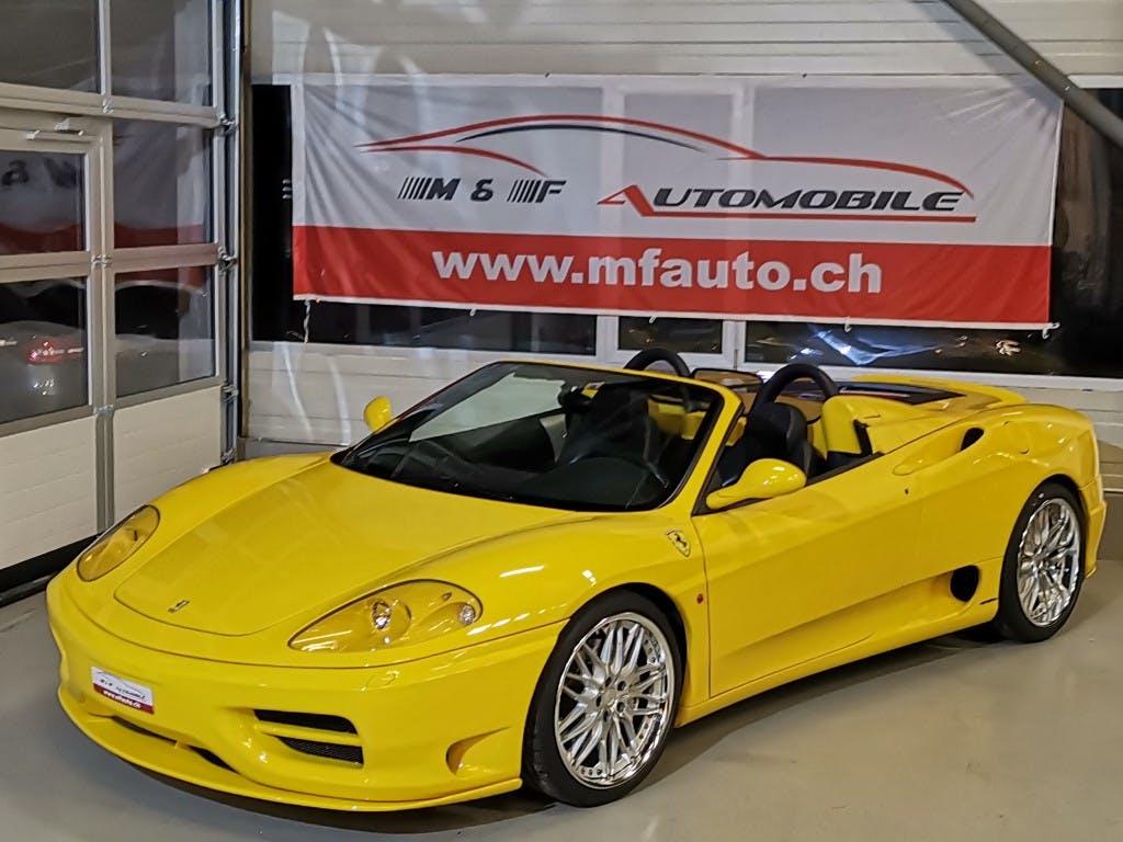 cabriolet Ferrari 360 F 360 Spider Novitec