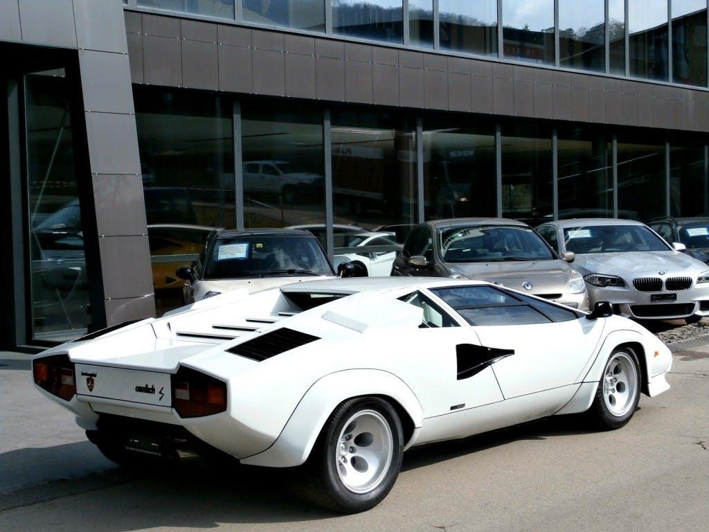 coupe Lamborghini Countach LP 400 S Low Body