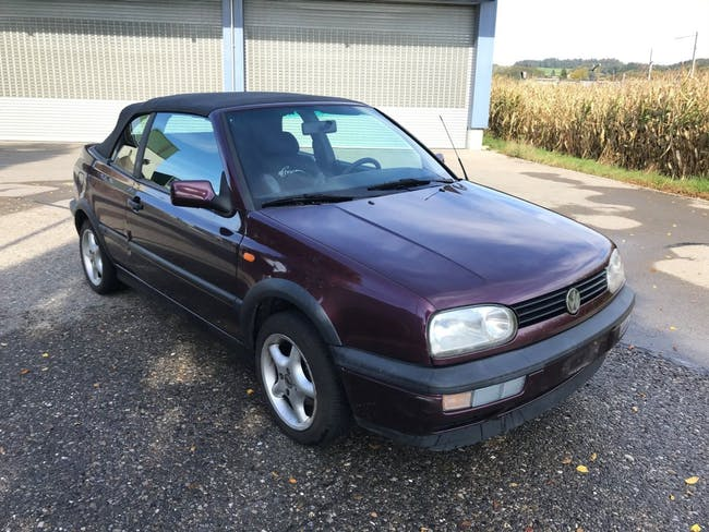 cabriolet VW Golf Cabriolet 2000 Swiss Classic