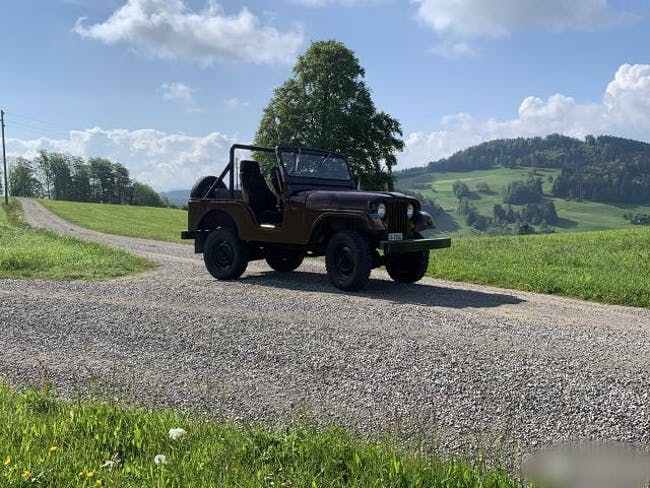 cabriolet Jeep CJ Willys Jeep CJ-5 ohne Verdeck