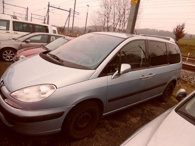 van Peugeot 807 2.2 16V HDi Black & Silver