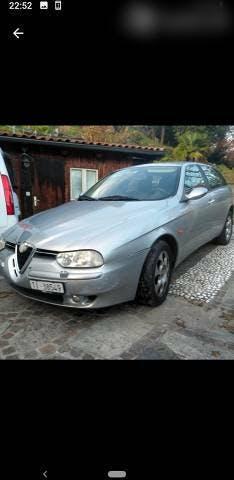 bus Alfa Romeo 156 2.4 jtd sportwagon mit leder 140000km