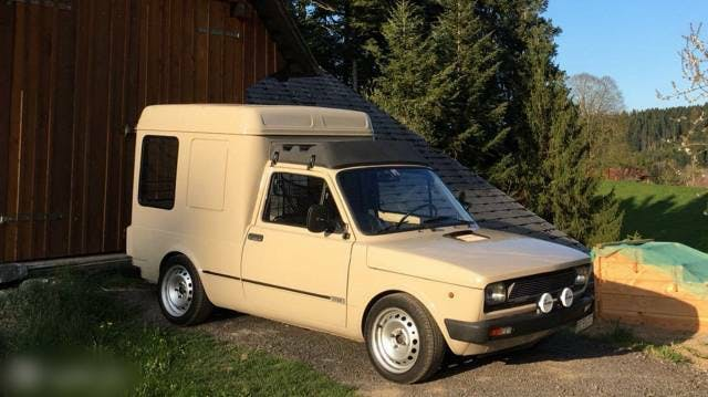 bus Fiat Fiorino 127 Fiorino
