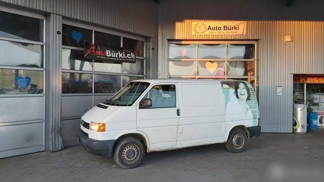 bus VW T4 2.5TDi 102PS Lieferwagen für Export