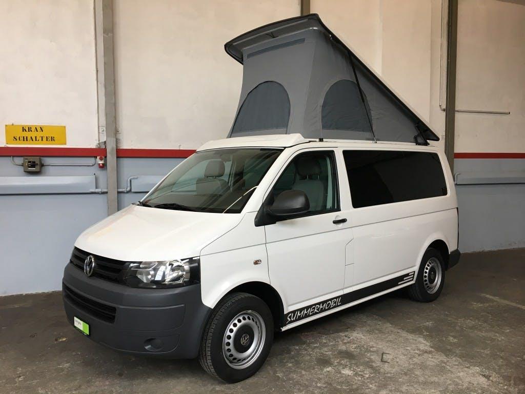 bus VW T5 2.0 TDI Camper 140Ps DSG Automat (Summermobil)