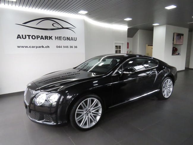coupe Bentley Continental GT Speed 6.0 W12 (inkl. Standheizung)