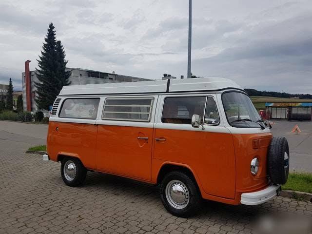 bus VW Typ 2 T2b Westfalia Camper frisch ab MFK