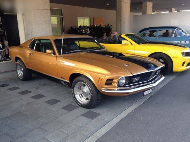 coupe Ford Mustang Mach 1 1970 / Veteran, Matching Numbers