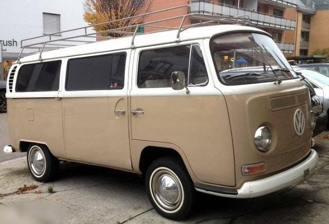 bus VW Typ 2 22 T2  / 9 Personenwagen - VW T2a