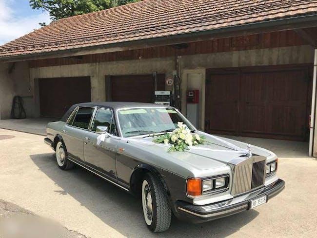 saloon Rolls Royce Silver Seraph Silver Spur
