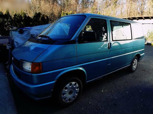 bus VW T4 1.9 TDI COLLAUDATO FRESCO