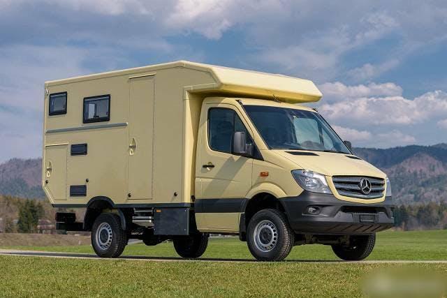bus Mercedes-Benz Sprinter Allrad Expeditions Wohnmobil Mercedes Sprinter 316 CDI 4x4