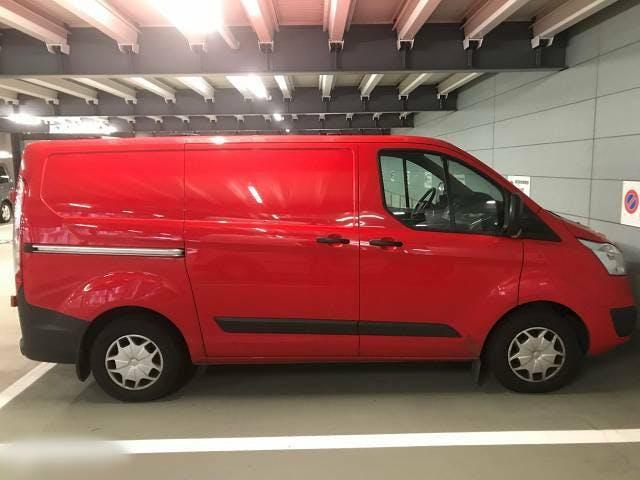 bus Ford Transit Custom Top Budenauto | perfekt für Sanitär- und Heizungsfirma