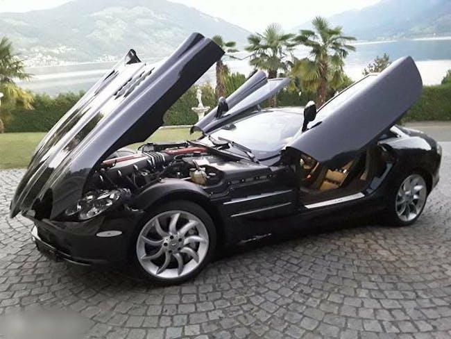 coupe Mercedes-Benz SLR Sehrschöner SLR,alles Zubehör,MFK/Service neu,Sammlerzustand