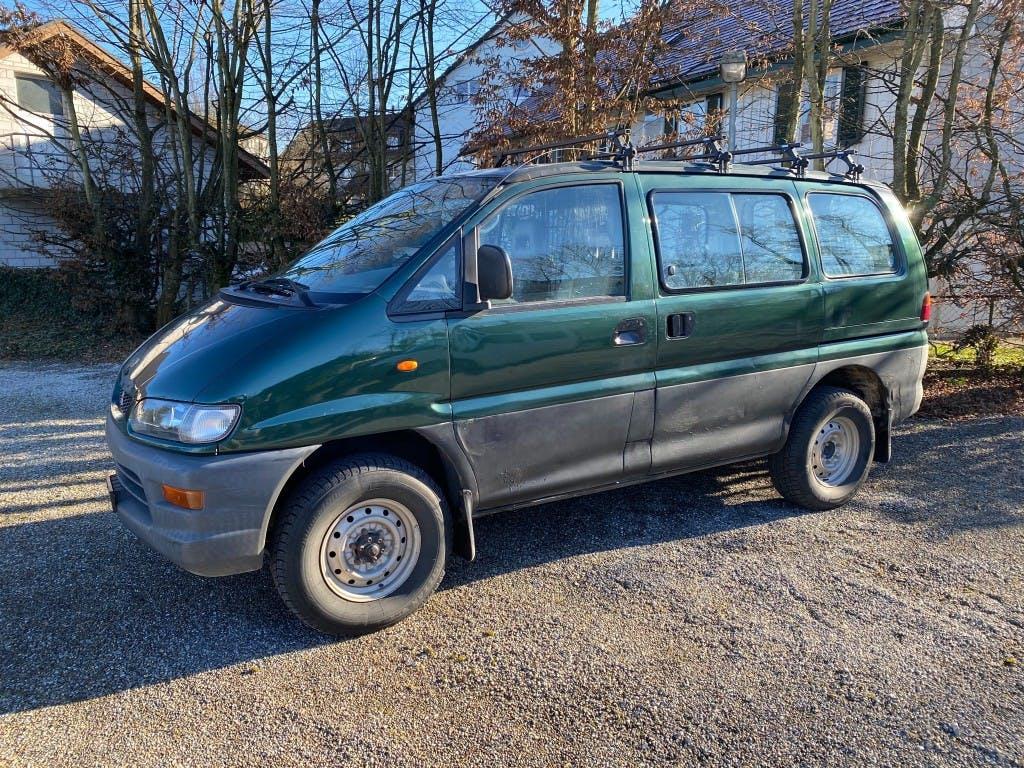 bus Mitsubishi L400 L 400 4x4 2.4-16