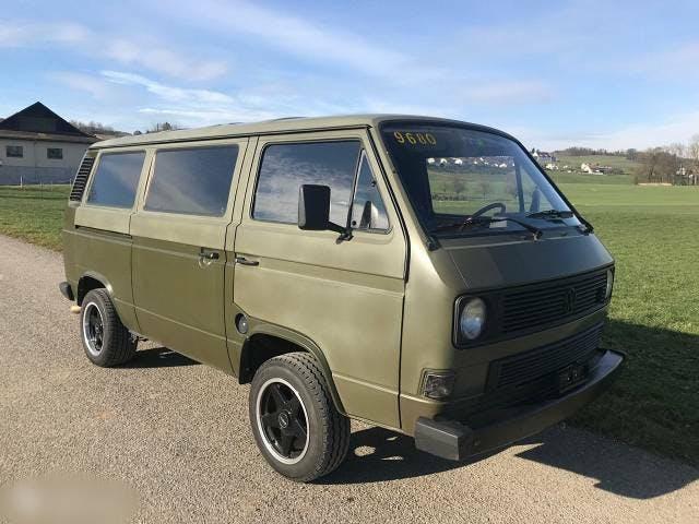 bus VW Typ 2 Bus T3, Typ2 Camper