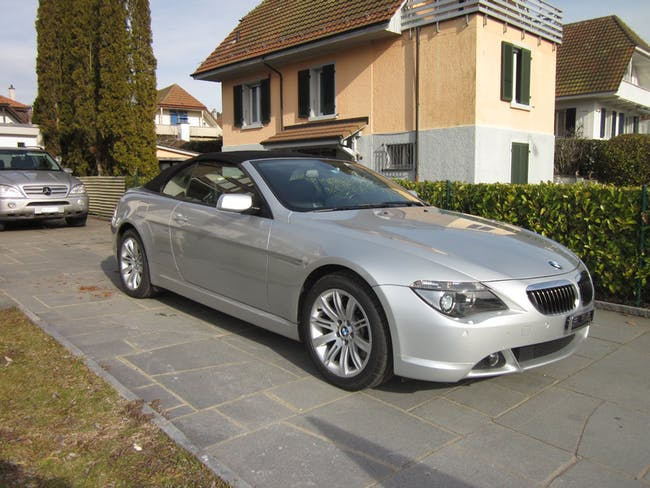 cabriolet BMW 6er 650i V8 Cabriolet