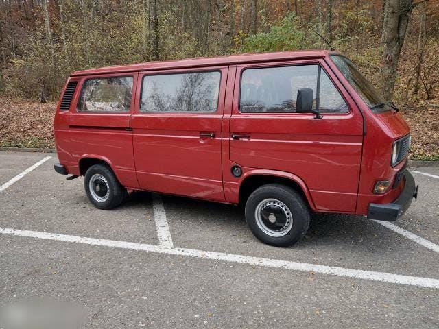 bus VW Typ 2 **VW T3 Camper** Aufbereitet + Ab MFK**