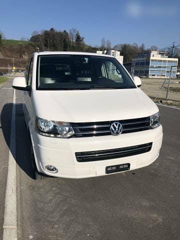 bus VW T5 Exklusiver VW T5 Multivan Highline 4x4