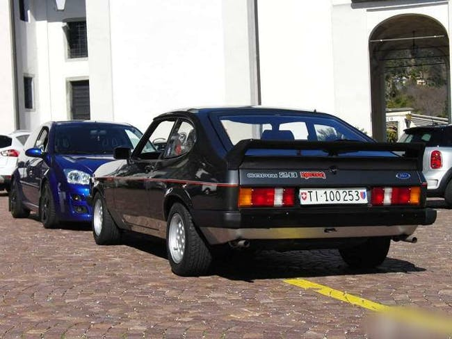 coupe Ford Capri 2.8i