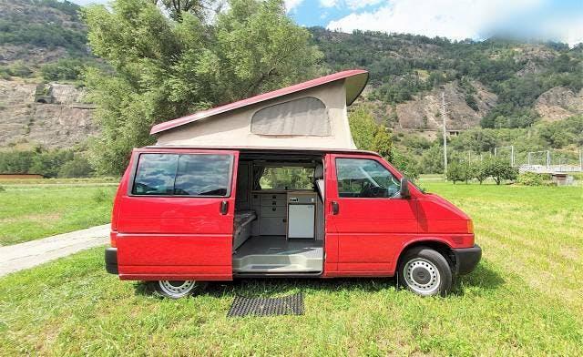 bus VW T4 Camper mit Reimo Ausbau