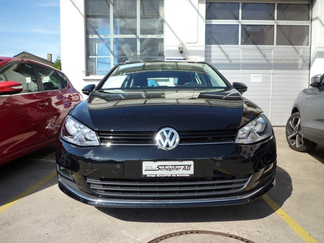 saloon VW Golf VII 1.4 TSI 150 Highline