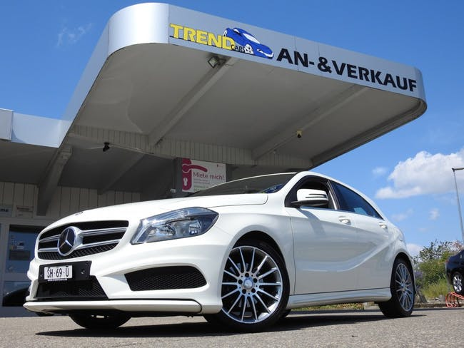 saloon Mercedes-Benz A-Klasse A 180 CDI AMG Line