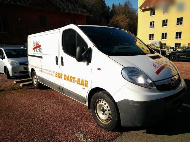 bus Opel Vivaro 2.5CDI Schaltgetriebe, B04