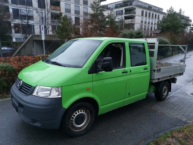 pickup VW T5 2.5 TDI PD DOPPELKABINE 4MOTION