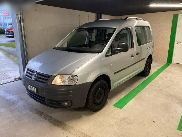 bus VW Caddy 1.9 TDI, 7 Plätze, Frische Service und Mfk