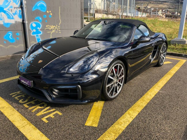 cabriolet Porsche Boxster GTS 3.4